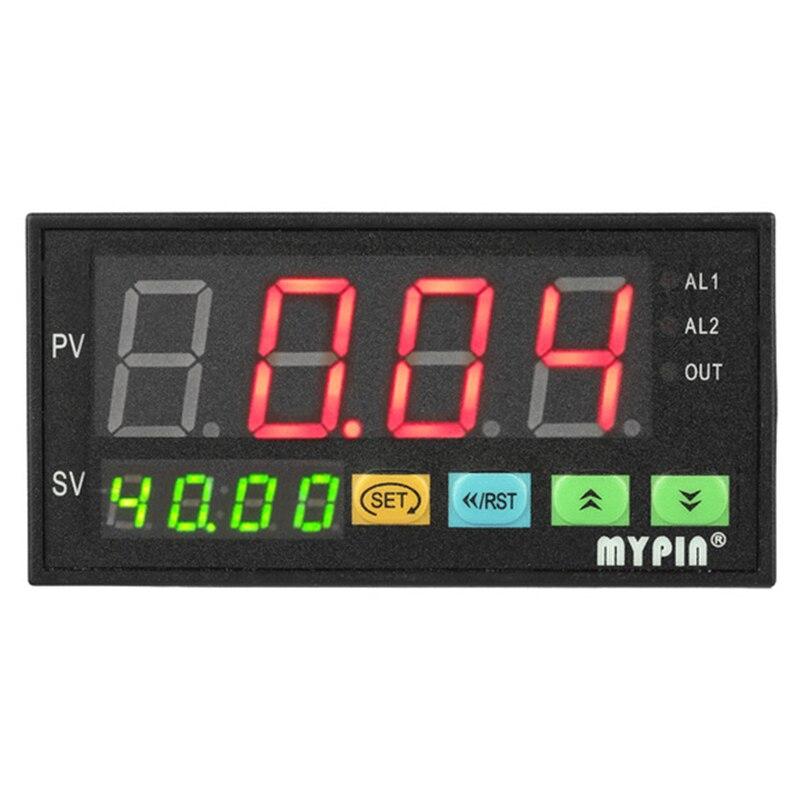 BMBY-mypin Digital Sensor Meter Multi-Functional Intelligent Led Display 0-75Mv/4-20Ma/0-10V 2 Relay Alarm Output Da8-Rrb