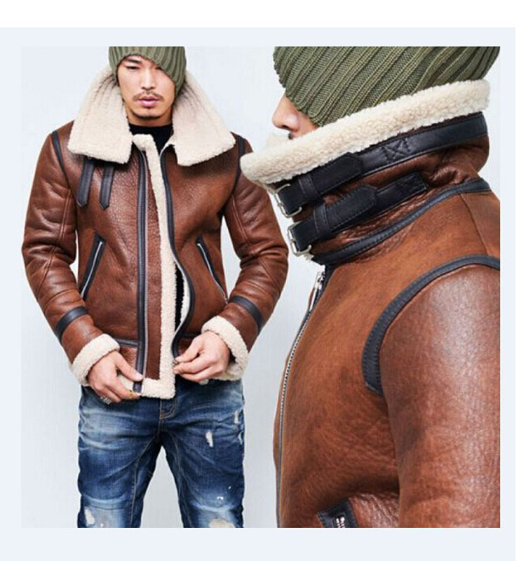 Winter Leather Jacket - HOT SELLING