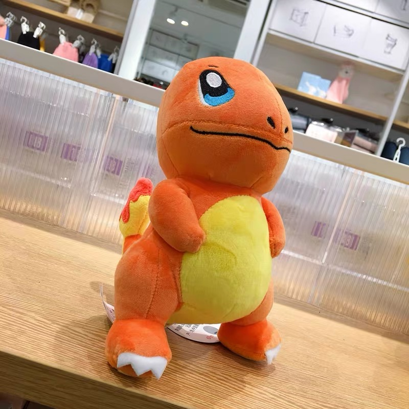 Japan Anime Charmander Pikachued plush toy Squirtle Bulbasaur Jigglypuff Lapras Eevee pokemoned Peluche Christmas gift for kids 5