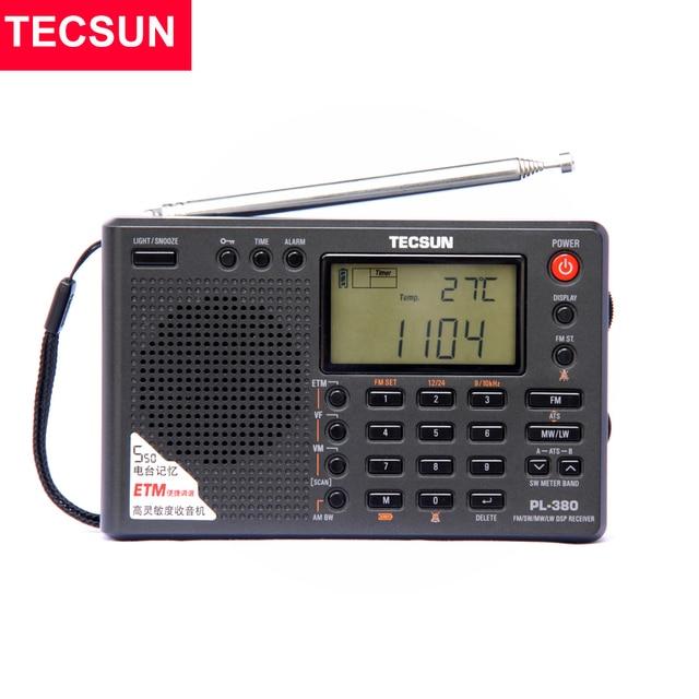 Радиоприемник TECSUN PL-380, PLL, FM/LW/SW/MW, DSP, Интернет-радио 1