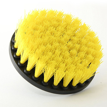 Plasstic Soft Drill Brush Attachment for Cleaning Carpet Leather and Upholstery Sofa Wooden Furniture Tools