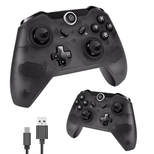 2PCS TECTINTER Bluetooth Wireless Pro Controller For NS Gamepad Joypad Remote for Nintend Switch Pro Controller For mando Switch