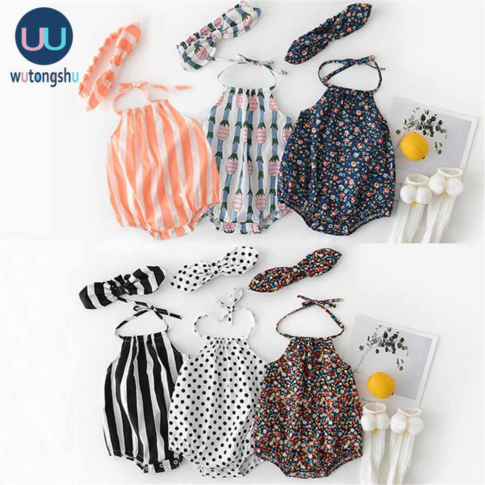 Sommer Baby Mädchen Neugeborene Baby Kleidung Kleinkind Feste Spitze Design Strampler Overall Für 0-24M Mädchen Neugeborenen ein-Stück