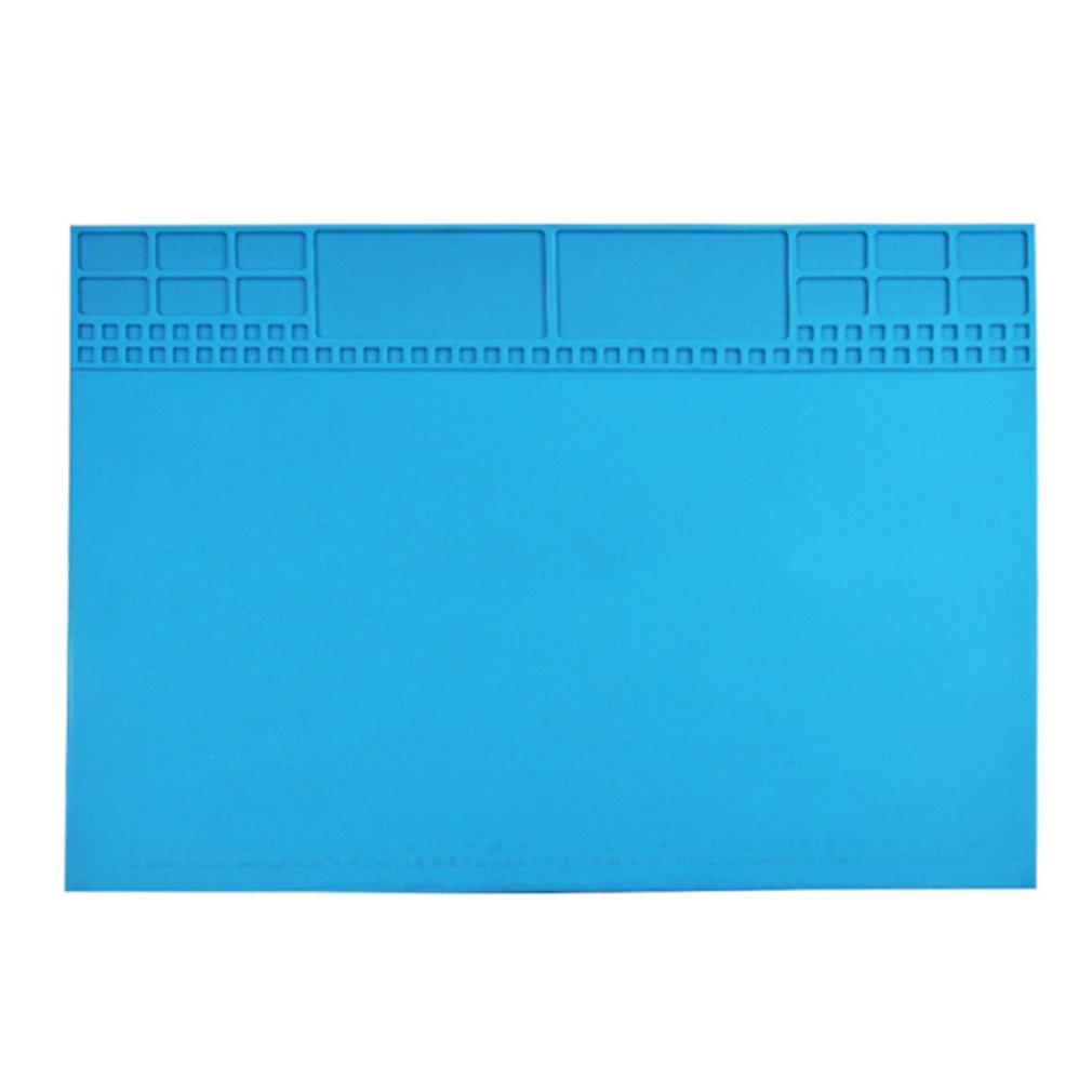 Pad Mobile Phone Repair Work Table With Magnetic Parts Adsorption Heat Insulation Pad High Temperature Insulation Repair