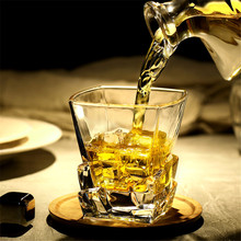 Big Whiskey Wine Glass Lead-free Crystal Cups High Capacity Beer Safe Drinkware Cup