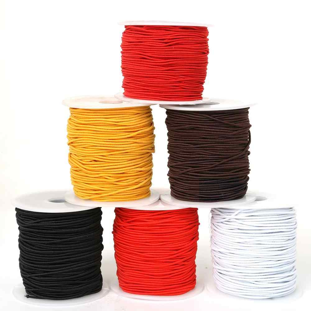 2m rubber cord elastic band cord red 1.2 mm