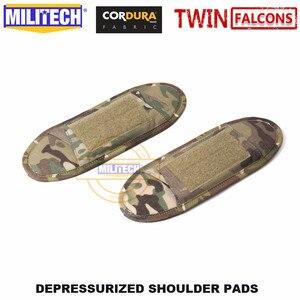 Image 5 - MILITECH TWINFALCONS TW Delustered Cordura Depressurized Shoulder Pads Vest Padding Shoulder Strap Padding Set