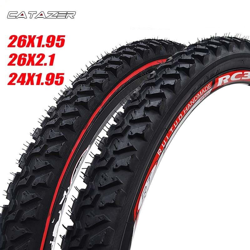 Шины для горного велосипеда с широким протектором и сильным захватом, шины для пересеченного велосипеда 26 2,125 MTB 26 дюймов 24 дюйма 1,95 проволоч...