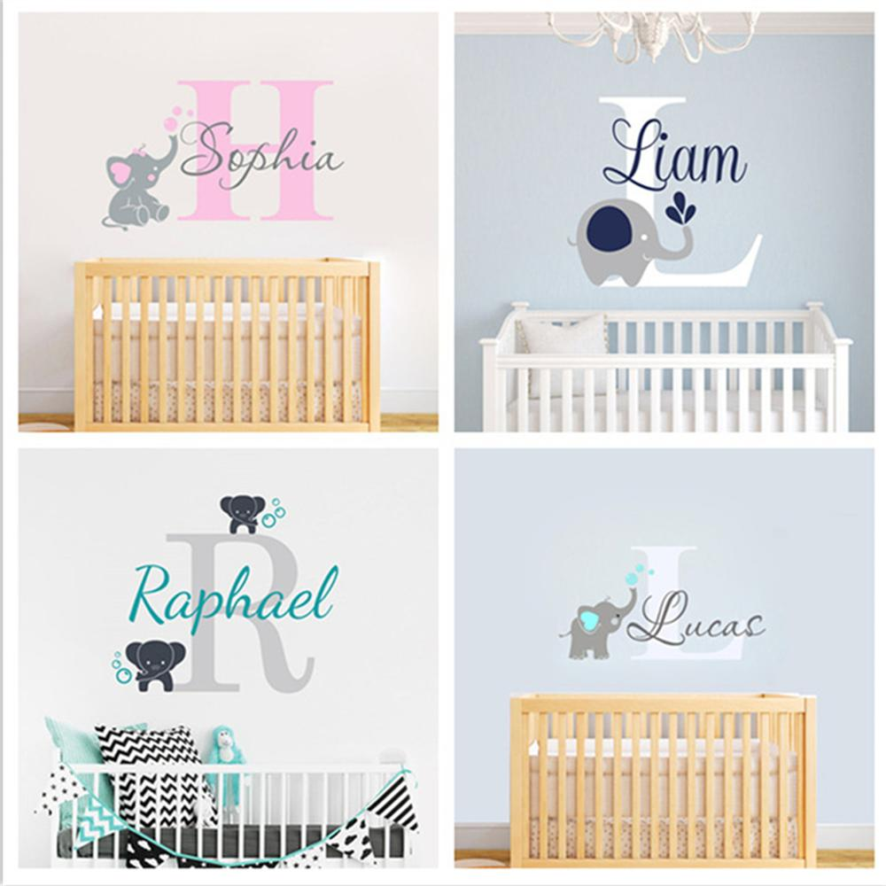 Custom Personalized Name Decal Wall