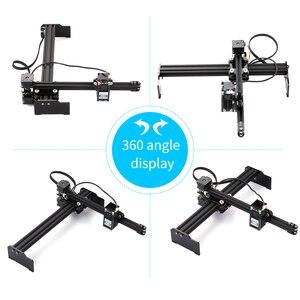 Image 2 - 2.3/3.5/7/15/20 w máquina de gravação a laser gravador a laser impressora diy gravador a laser cortador gravura máquina de corte de madeira roteador