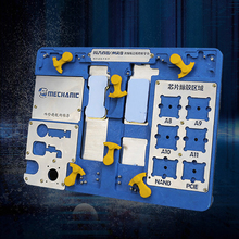 MECHANIC intruder 8(MR8) iPhone Motherboard planting tin platform A8 A9 A10 A11 removal glue 6-8 generation fingerprint repair
