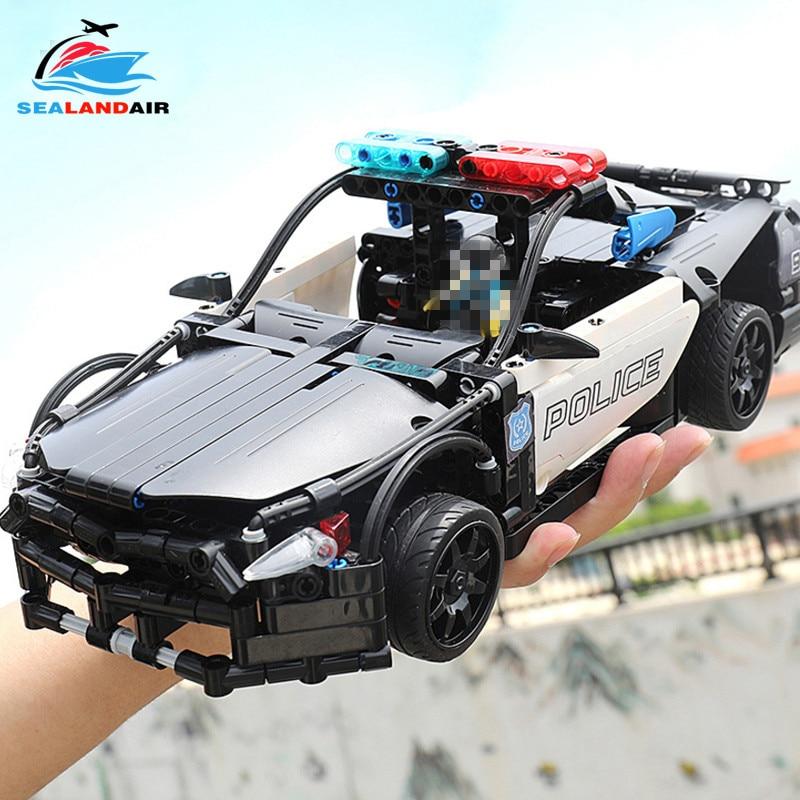 430pcs SWAT City Police Series Building Blocks Vehicles RC Car Model Bricks Figures Toys Compatible With Legoingly Technic Block