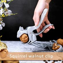 Longa em forma de esquilo nutcracker walnut cracker alicate porca clipes para pecans avelã amêndoas nozes brasil nozes ferramentas