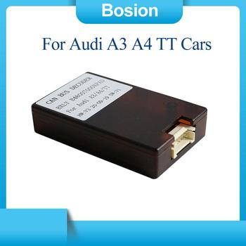 Car Radio Stereo For Audi A3 A4 TT Cars Canbus Box Android 2 din /1 din image