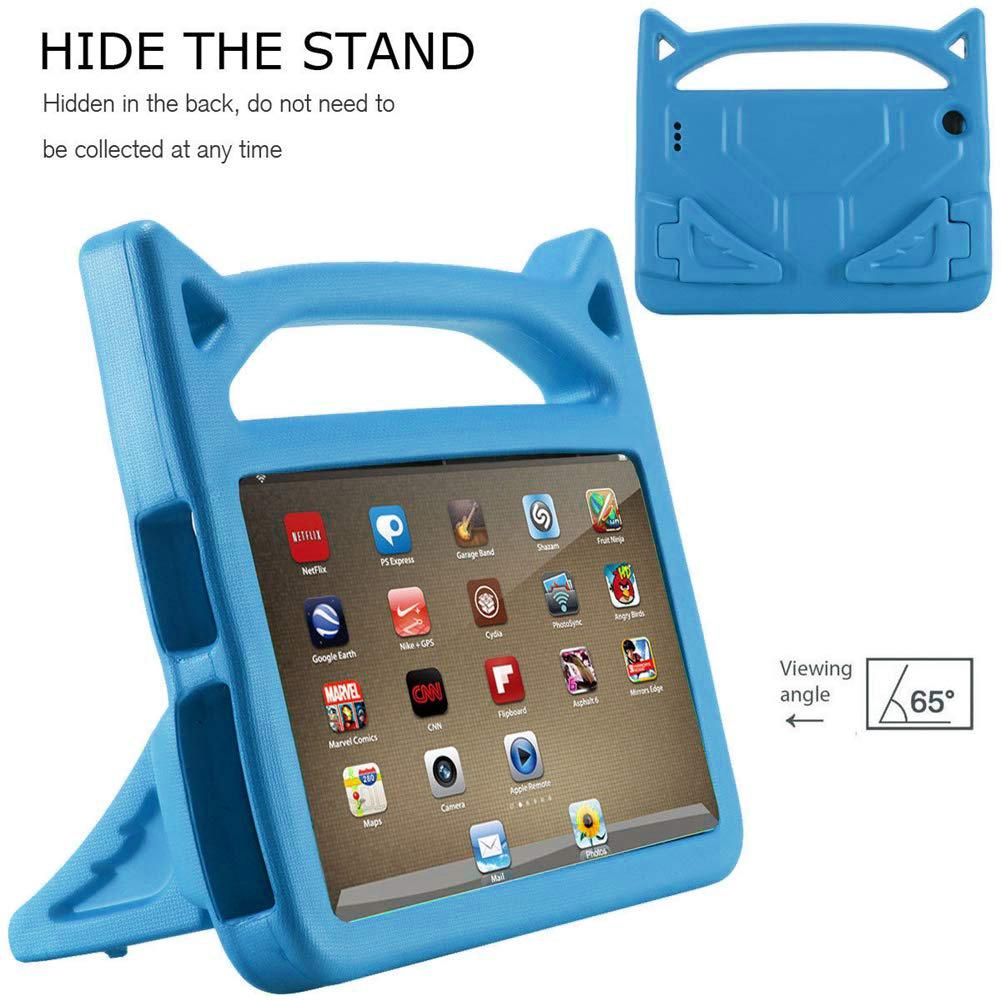 Kids Shockproof EVA Foam Case Cover For Amazon Fire 7 Inch Tablet 2019 2017 2015 Lightweight Handle Children Bracket Protector image