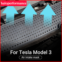 Model3 Tesla Air Protection Flow Vent Cover Trim Auto For Tesla Model 3 Accessories Filter for tesla model three model 3 tesla