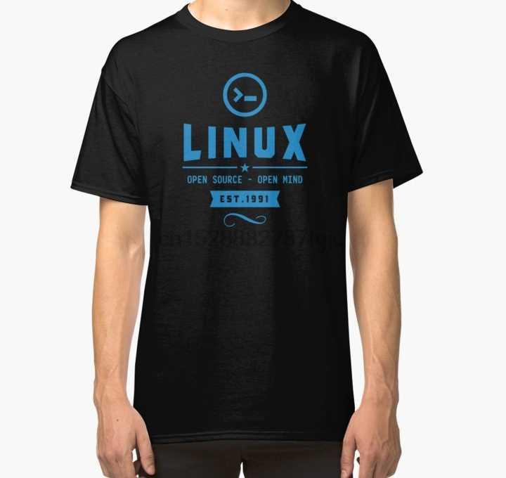 T-shirt homme Linux Linux t-shirt. Comme cadeau spécial. T-Shirt classique femmes T-Shirt t-shirts haut