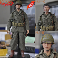 KUMIK KMF046 1/6 Male Soldier Figure In 12Inch Action Figure Head Body Set US Army