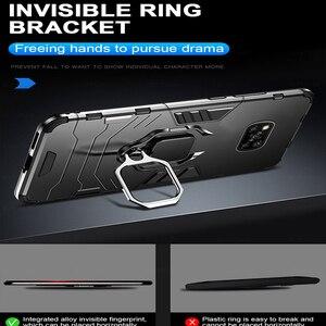 Image 3 - שריון עמיד הלם מקרה עבור Xiaomi Poco X3 פרו Pocox3 NFC Poko Pocco Pocophone X 3 Stand רכב מגנטי טבעת מחזיק קשה כיסוי Coque