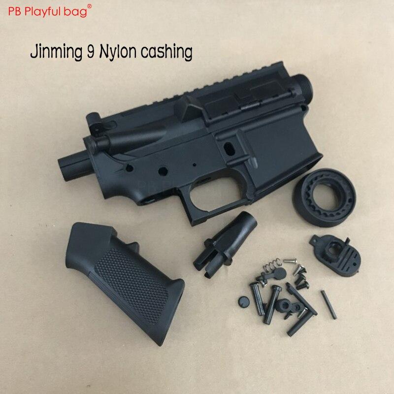 Tactical Water Bullet Gun Jinming 9 Gen 9 Original Accessories Upper-receiver Lower-receiver Handguard Etc DIY Toys Parts OB27
