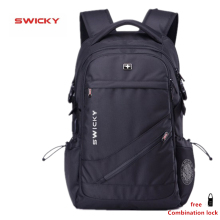 SWICKY brand woman men MP3 music USB charging fashion business casual tourist theft waterproof 15.6 inch Laptop backpack