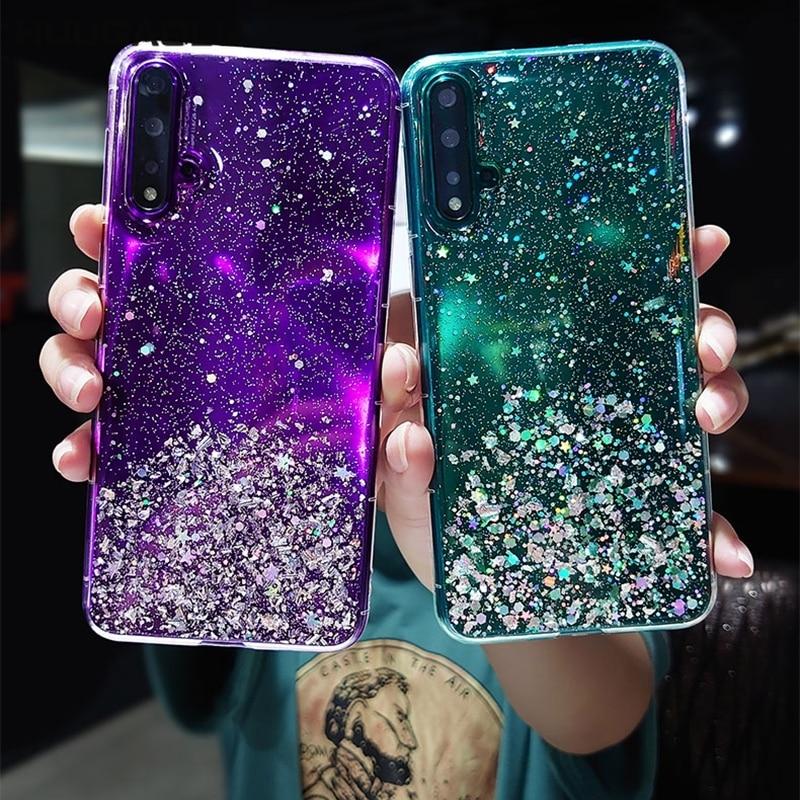 Bling Glitter Case For Xiaomi Redmi Note 8 Pro 8T 8A 7 7A 6 5 4X 4 9A 9S 9C Cover Xiomi Mi 10 9 9T A3 A1 A2 Lite Etui Coque(China)