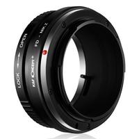 K&F Concept Lens Mount Adapter for Canon FD FL Lens to Nikon Z6 Z7 Camera