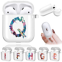 Чехлы airpods для apple 1 го/2 го поколения air pods зарядная