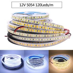 Image 4 - Nowa taśma LED o Ultra jasności 5M 4040 5054 5050 5630 12V elastyczna podświetlana taśma oświetlająca LED wstążka 120 leds/m jaśniejsza niż 2835