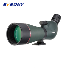 SVBONY SV406 Spotting Scope 20-60×80 Dual Speed Focusing Telescope IPX7 Waterproof Large Field for Shooting Archery Birdwatching