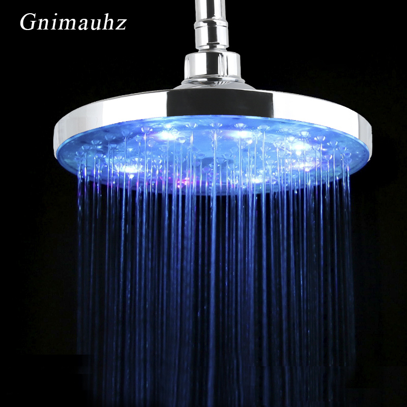 7 Colors Led Temperature Sensitive Rainfall 8