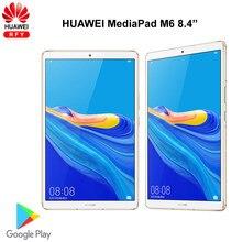 Oryginalny Huawei Mediapad M6 8.4 cala 4GB 64GB WIFI tablet PC Kirin980 Octa Core Android 9.0 Google play 6100mAh type-c 2560x1600