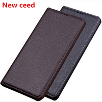 Natural genuine leather magnetic holder phone bag for Asus Zenfone 6Z ZS630KL/Zenfone 6 2019 ZS630KL phone cover standing coque