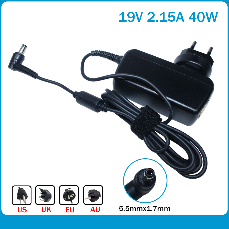 19V 2.15A For Acer Chromebook C710-2457 C710-2487 Battery Charger D250 AO522 AO722 V5-121 V5-131 V5-171 ADP-40THA