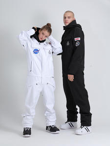 Snowboard Overall Jacket Ski-Suit SMN Skiing One-Piece Waterproof Women Winter Warm Breathable