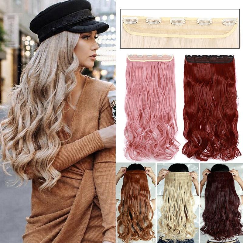 Накладные волосы S-noilite, 24 дюйма, удлиненные синтетические волосы для женщин, розовый, красный, фиолетовый цвет