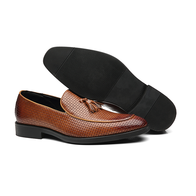 Image 5 - 37 48 men shoes casual moccasins leather Brand Comfortable classic luxury elegant fashion Plus Size Breathable loafers men #B02-in Men's Casual Shoes from Shoes