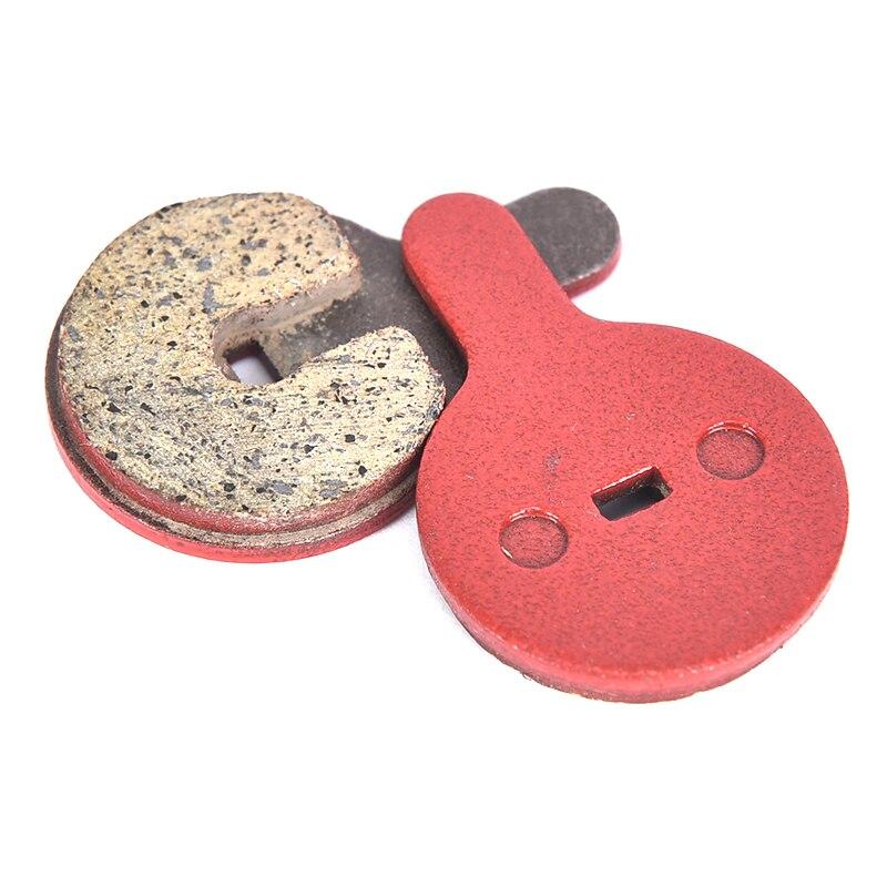 1 пара/2 шт красные органические дисковые Тормозные колодки