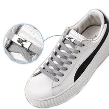 Эластичные шнурки для кроссовок унисекс плоские без завязывания