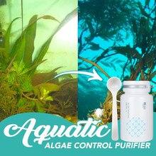 Aquarium Algaecide Aquatic Control Algae Detergent Purification Water Algae Removal Aquarium Cleaner + Spoon Cleaning Products