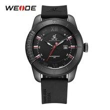 цена на WEIDE mens quartz watches top brand luxury sport analog water resistant wristwatch men relogio masculino automatic role watch