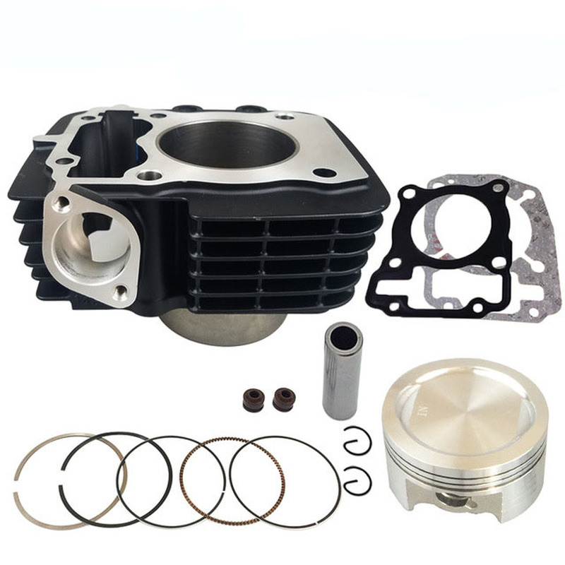 Engine Spare parts Motorcycle Cylinder Kit 57.3mm pin 14mm For Honda <font><b>CBF150</b></font> XR150 WH150 KTT150 CBF XR WH KTT 150 150cc image