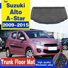 Для Suzuki Alto / A-Star 2009-2015 высокое качество задний багажник Грузовой коврик лоток коврик для багажника Водонепроницаемый защитная накладка авто...