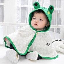 Детский плащ; ветрозащитное теплое пальто; модная верхняя одежда с капюшоном для детей 2-24 месяцев; сезон осень-весна