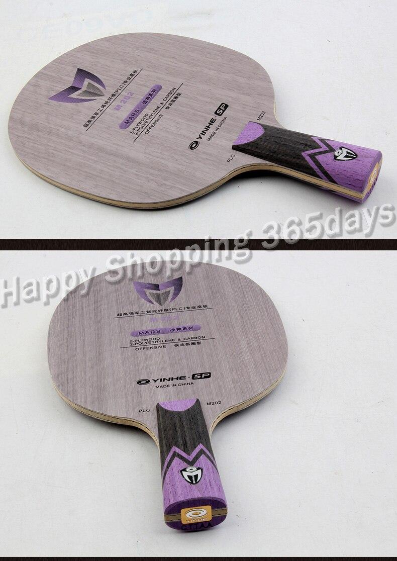 Original Yinhe Milky Way Galaxy M102 M202 God Of War Table Tennis Racket Ping Pong Blade