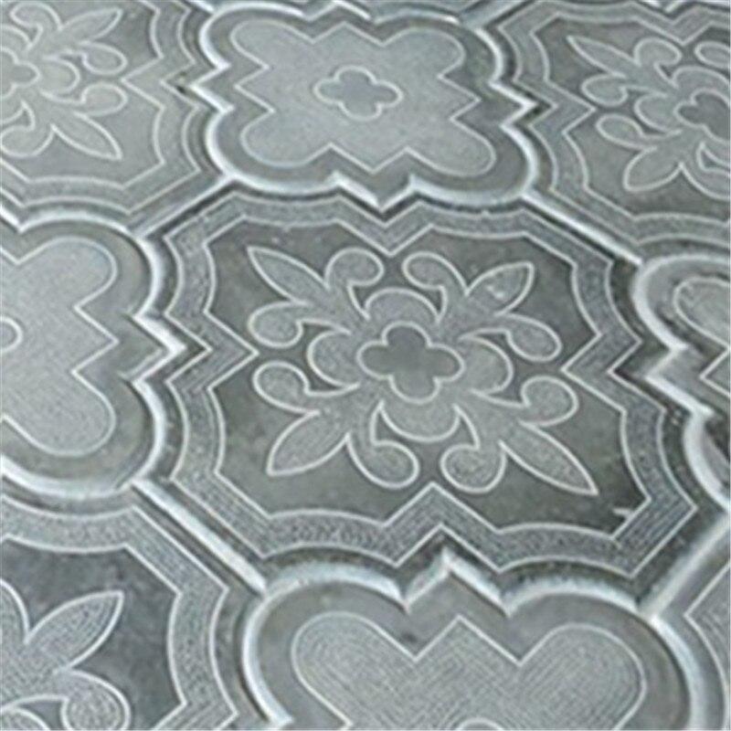 Ancient Antique Brick Floor Tile Cement Floor Making Mould Handmade Path Pavement Plastic Mold