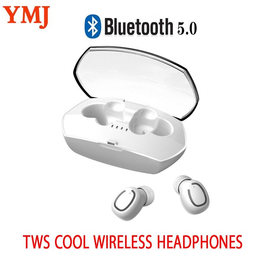 TWS Bluetooth 5.0 écouteurs Mini sans fil écouteurs Sport mains libres écouteurs sans fil casque avec boîte de charge pour Android IOS