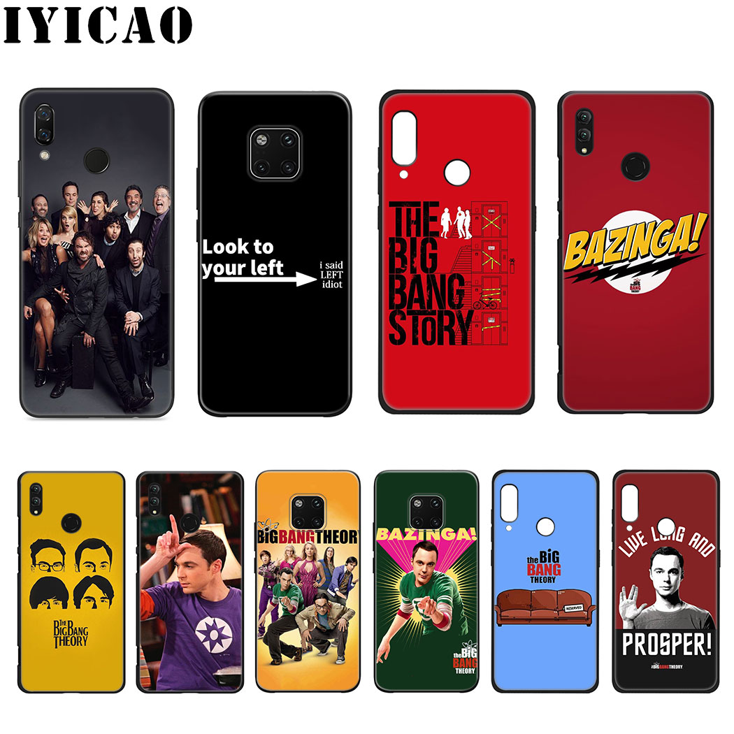 IYICAO The <font><b>Big</b></font> <font><b>Bang</b></font> Theory Soft Silicone <font><b>Case</b></font> for Huawei Mate 20 10 Lite Pro Nova 5i 4 3i 3 2i 2 Lite <font><b>Case</b></font> image