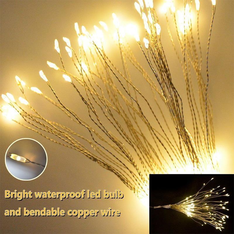 Corridor Patio Festival Fairy String Fairy String Light Super Bright Durable Xmas Decor Landscape Lamp Garden Romantic