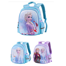 Frozen 2 Elsa Anna Backpack Girls Children's Cartoon Backpack Car Waterproof Spine Reduction Travel Storage Bag backpack anna luchini сумки стеганые